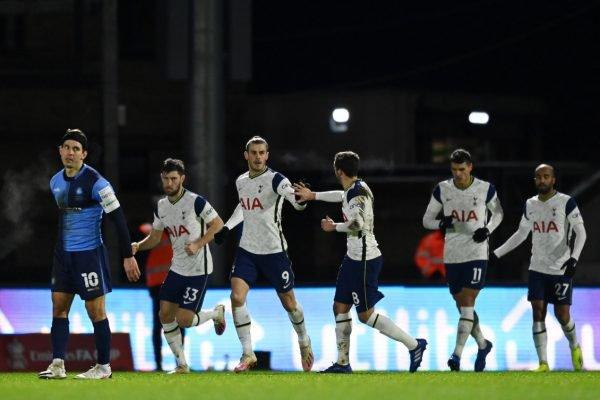 Copa Da Inglaterra Tottenham So Precisa Do 2º Tempo Para Golear O Wycombe