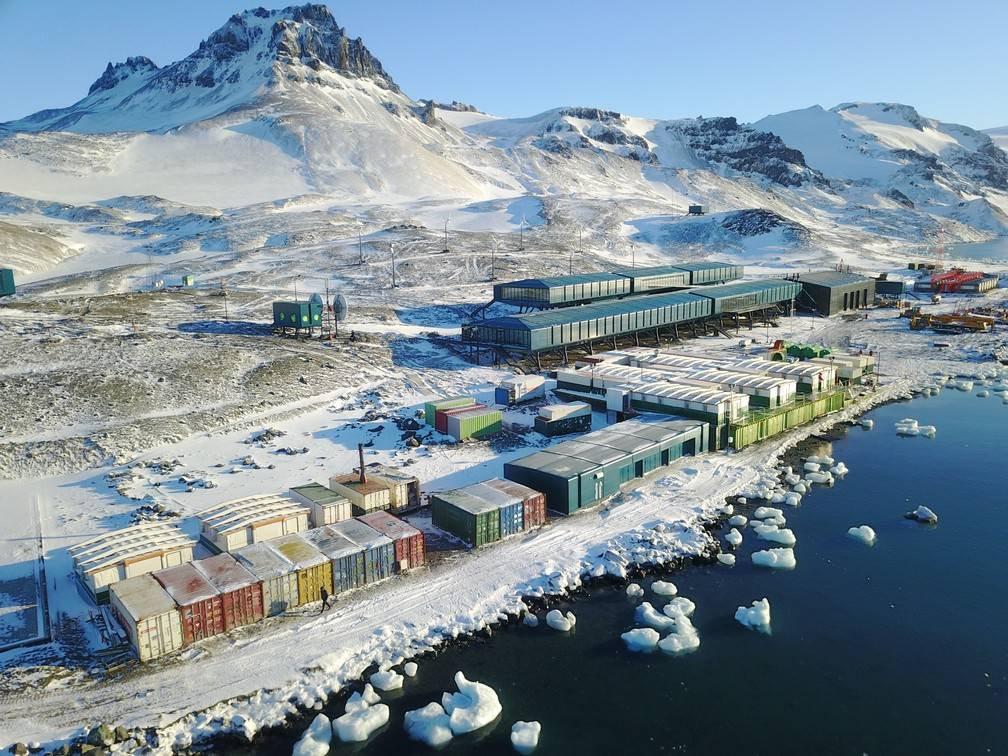 Estação do Brasil na Antártica