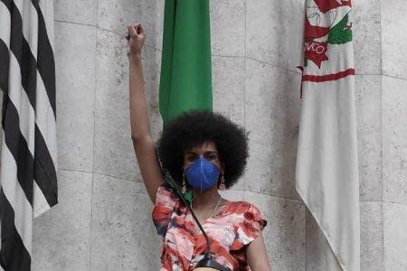 Carolina Iara (PSol) é militante da causa LGB