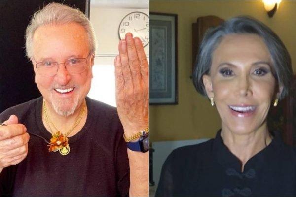 Carlos Villagran e Florinda