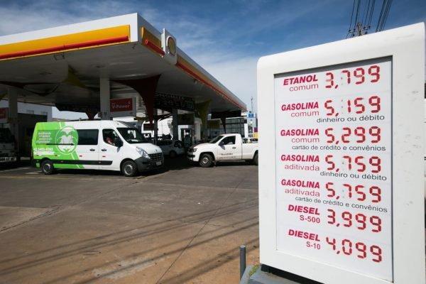 preço combustível df