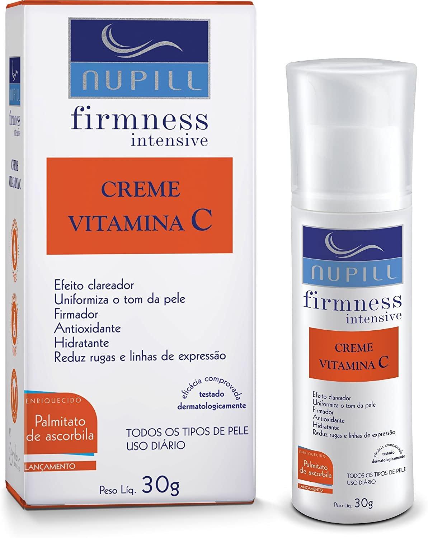 Creme Vitamina C, da Nupill, com 30g