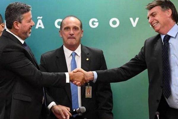 Bolsonaro e Arthur Lira