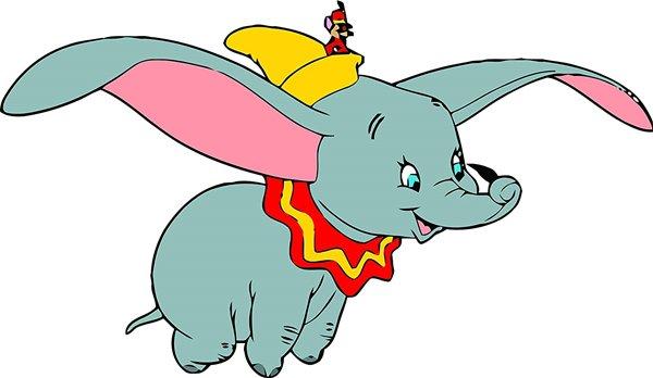 Dumbo o elefante voador