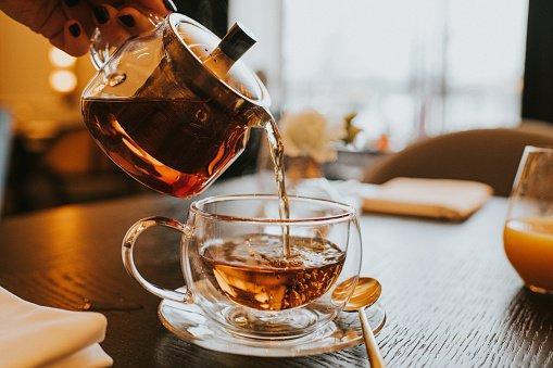 chá infusão