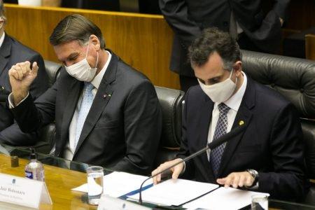 Bolsonaro participa da reabertura do ano legislativo no Congresso