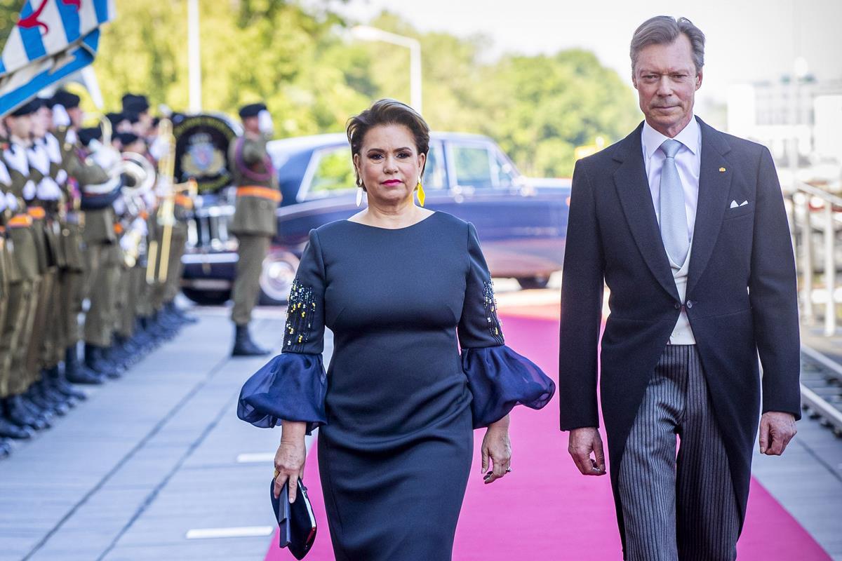 A grã-duquesa Maria Teresa e o grão-duque Henrique