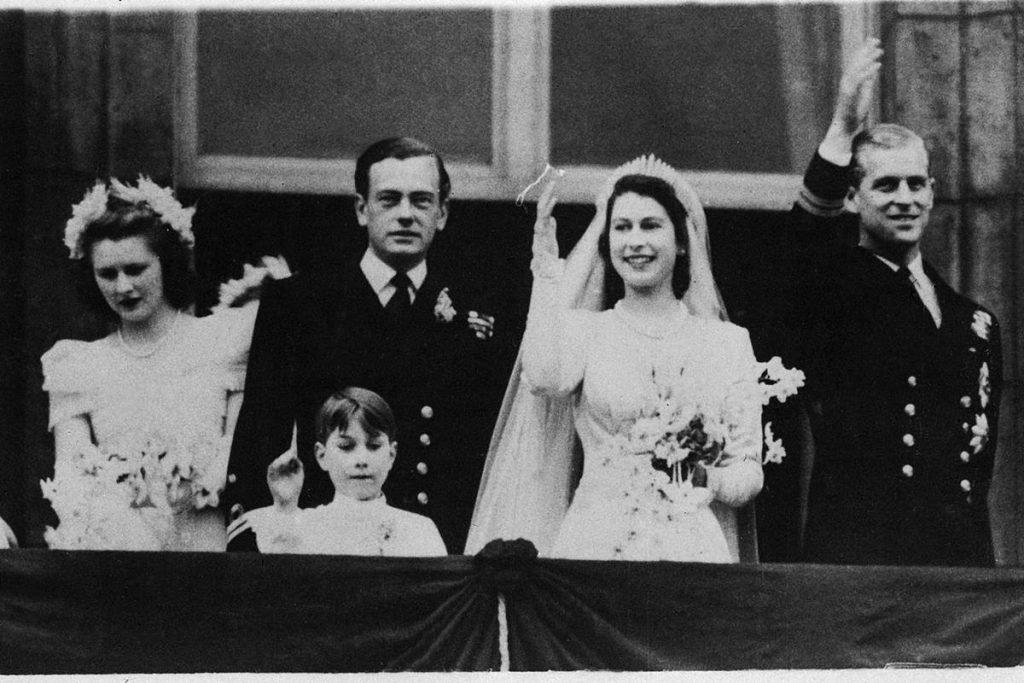 Casamento da rainha Elizabeth com o príncipe Philip