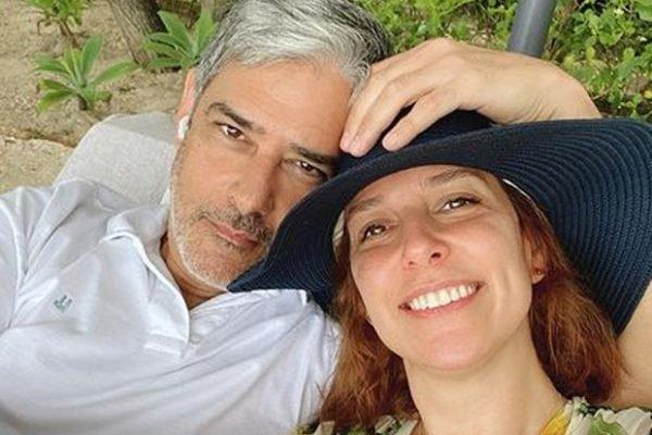 Natasha Dantas e William Bonner