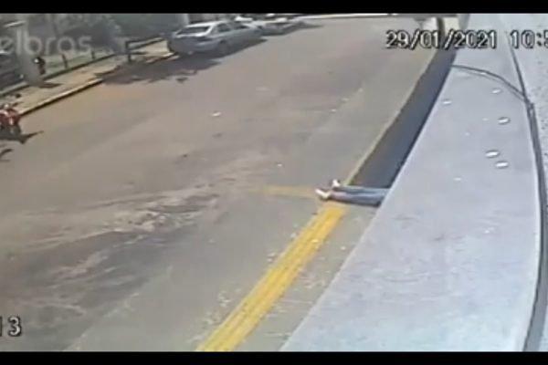 Mulher pula de prédio para fugir de estupro em Goiânia