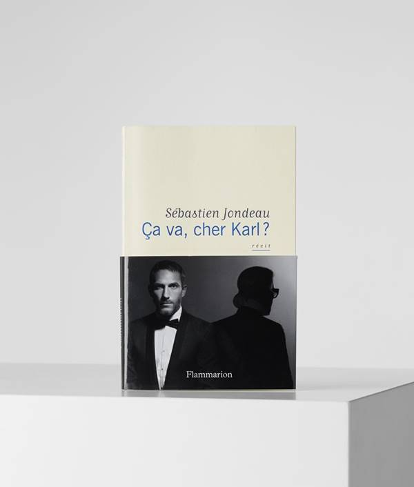 Livro Karl lagerfeld
