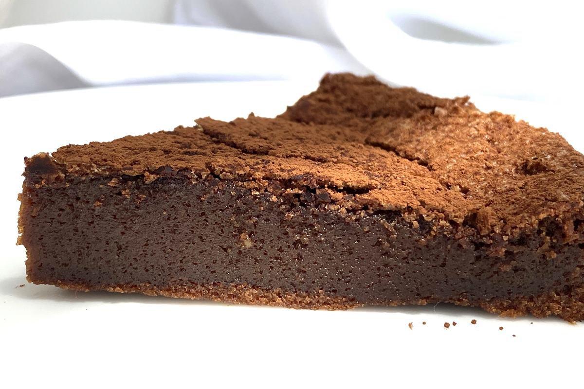 Torta Fondant de chocolate