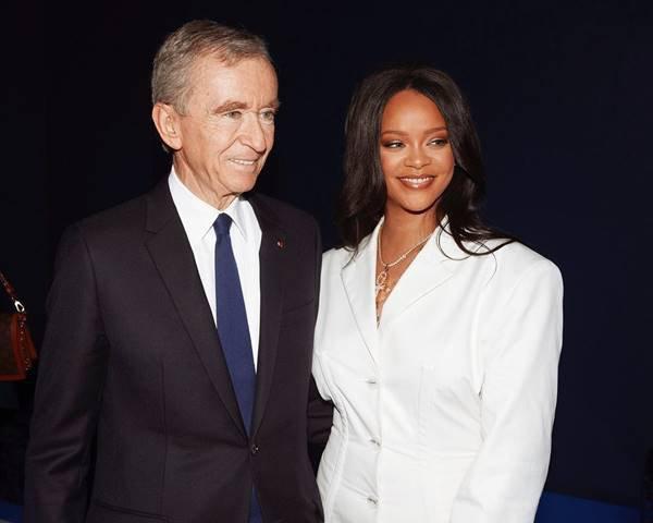 Bernard Arnault e Rihanna