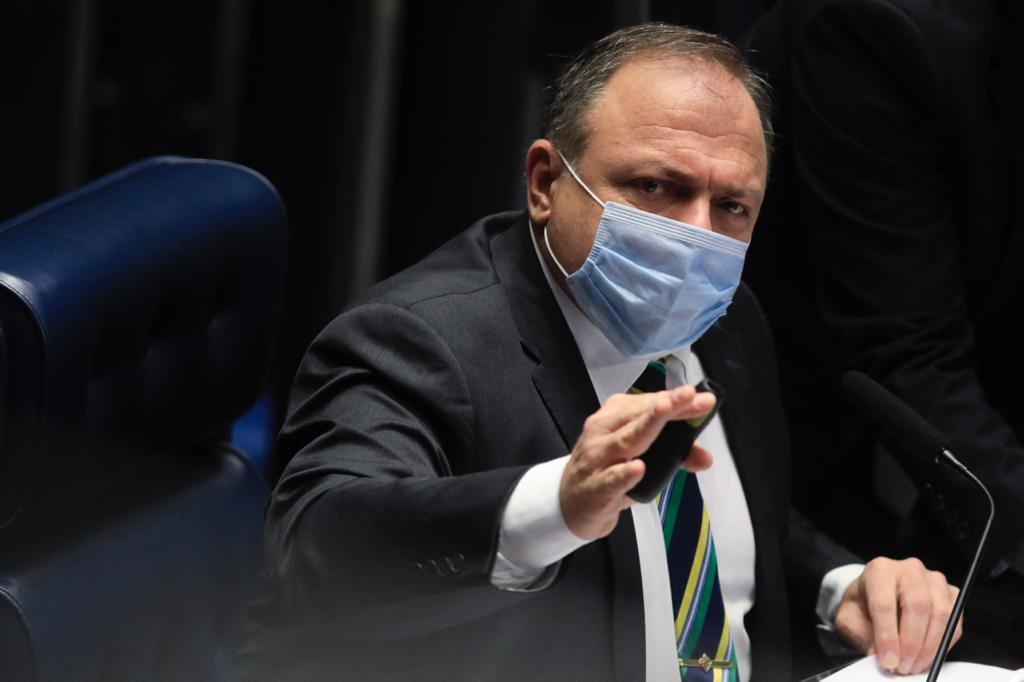 Eduardo Pazuello no Senado