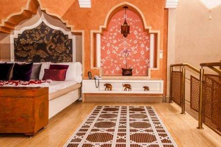 Suíte Taj Mahal Flamingo