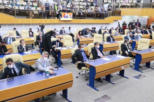 Plenário da Câmara de Goiânia