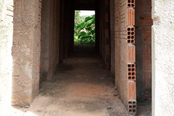 Unidade de saúde abandonada em comunidade quilombola