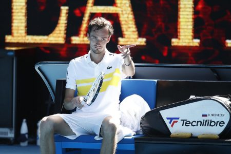 Daniil Medvedev no Australian Open