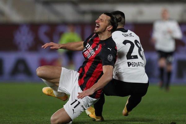 Spezia x Milan Ibrahimovic