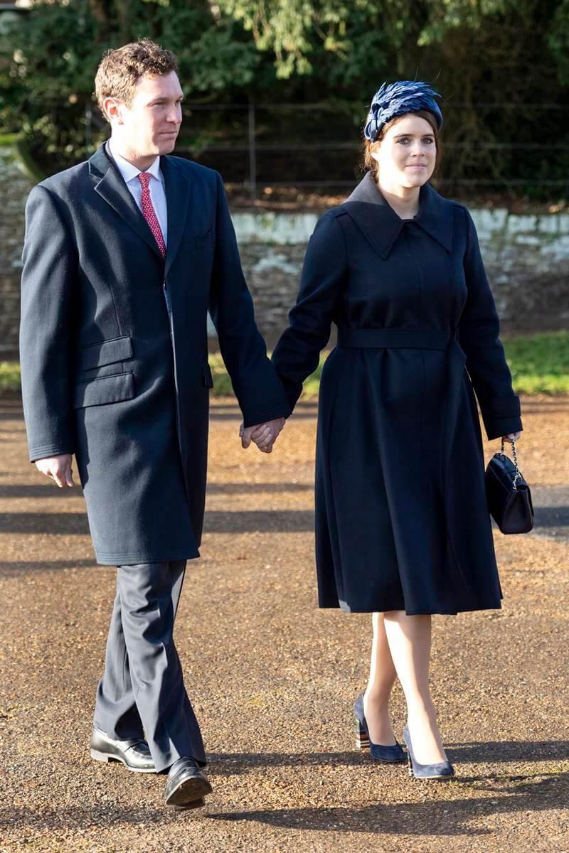 Jake Brooksbank e princesa Eugenie