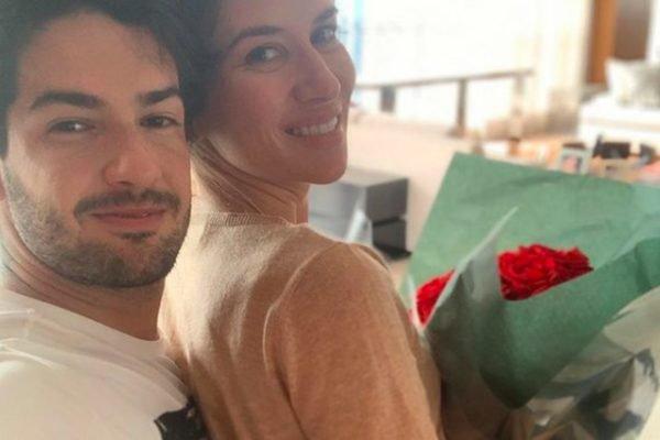 Pato e Rebeca Abravanel