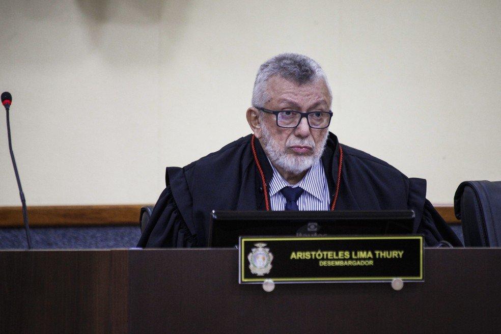 Ex-presidente do TRE-AM, Aristóteles Thury