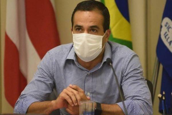 O prefeito Bruno Reis, de Salvador