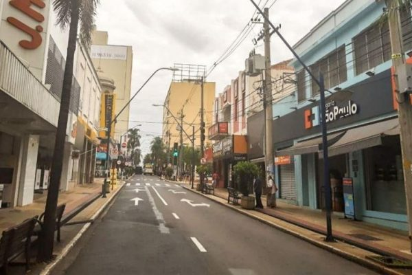 lockdown em Araraquara