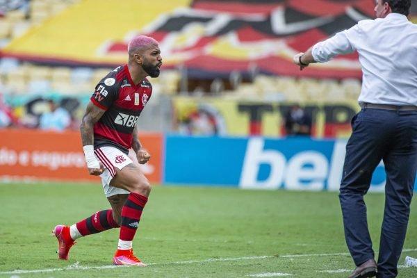 Gabigol e Rogério Ceni no Flamengo