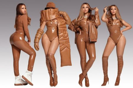 Beyoncé estrela fotos de nova collab
