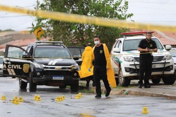 Um homem e uma mulher foram mortos a tiros na QN 16 do Riacho Fundo 2