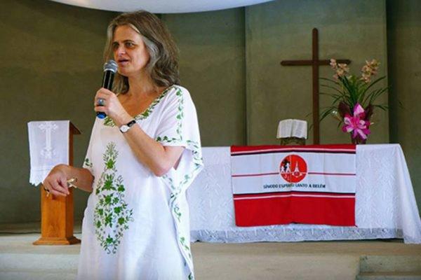 Pastora luterana Romi Bencke