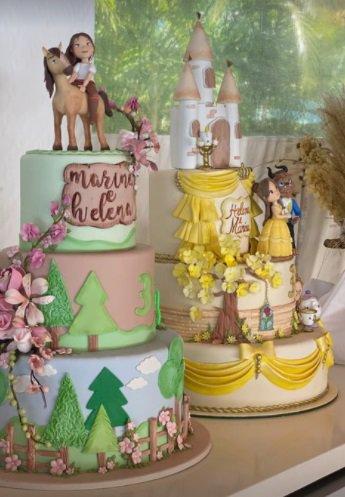 Ivete mostra decoração aniversário filhas gêmeas festa