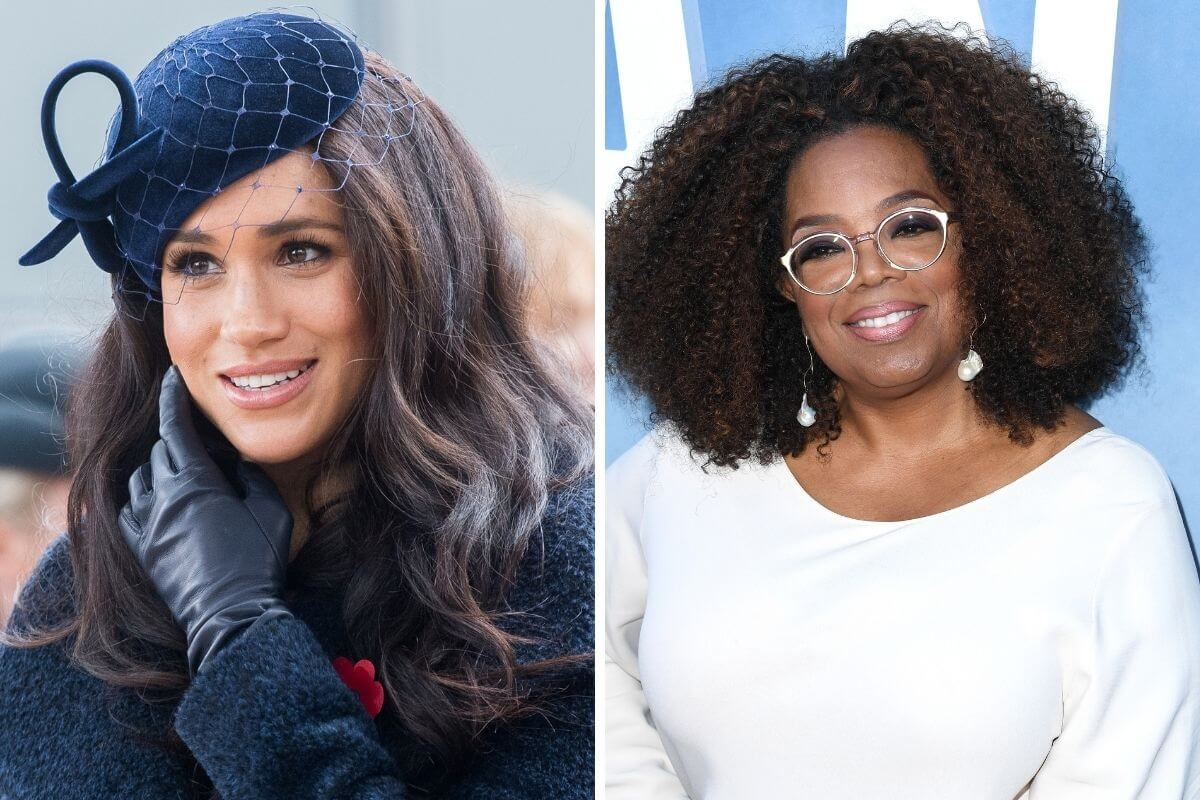 Meghan Markle e Oprah Winfrey