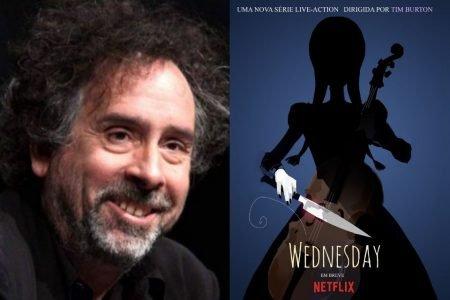 Tim Burton dirige série Netflix Wednesday