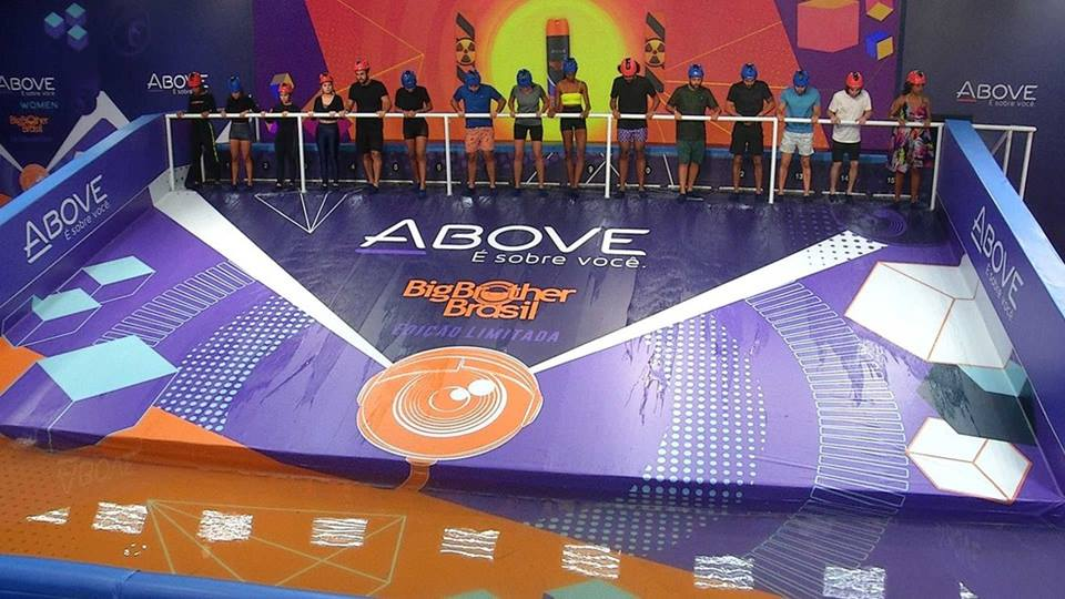 Prova do Líder Above do BBB21, Imagens do Circuito