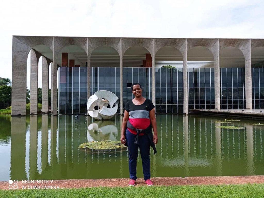 Madalena Gordiano em Brasilia 02 - Itamaraty