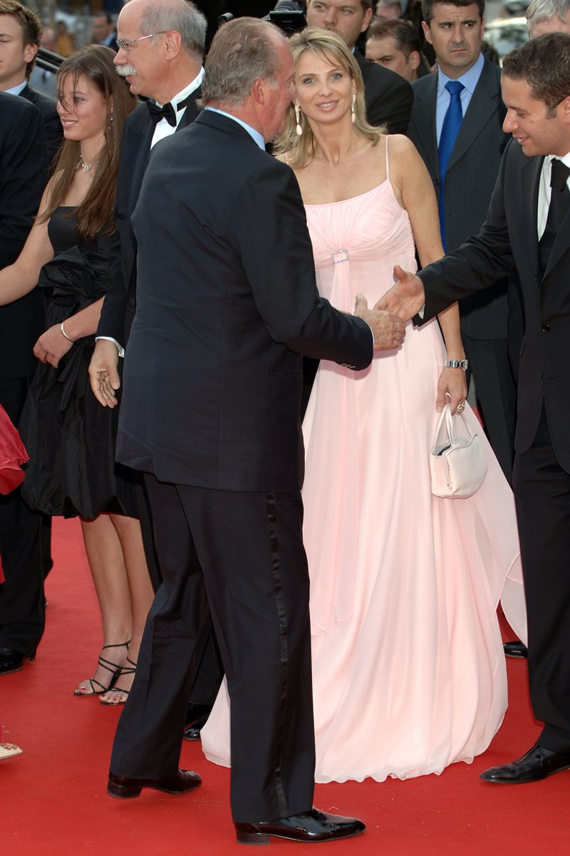 Rei Juan Carlos e Corinna Larssen