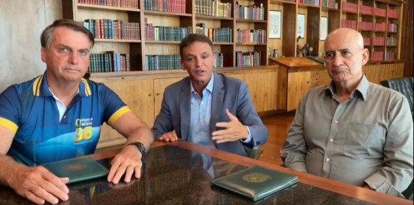 Bolsonaro, Márcio Bittar e Ramos