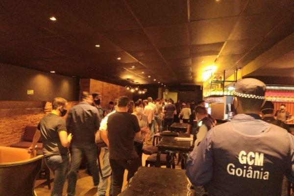 aglomeração bar