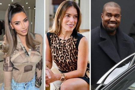 Kim Kardashian, Laura Wasser e Kanye West