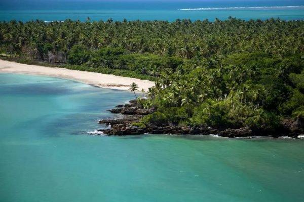 Mar e coqueiros