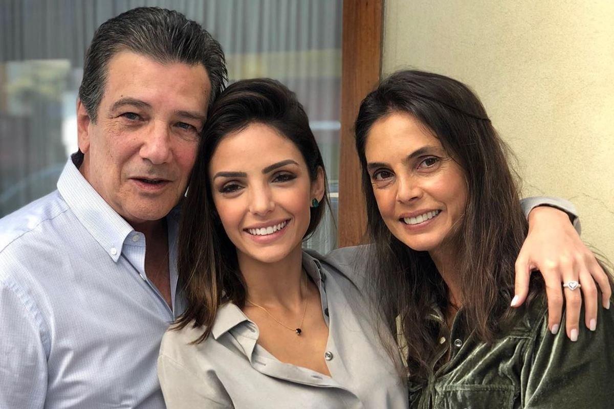 Celso Celico, Carol Celico e Rosangela Lyra