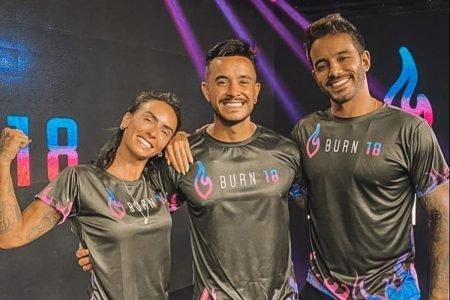 Equipe Burn18 - Clara Maia, Talles Sucesso e André Coelho