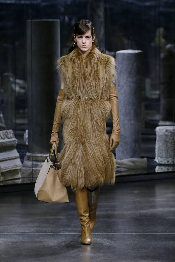 Coleção feminina de outono/inverno 2021 prêt-à-porter da Fendi