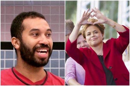 Gilberto e Dilma Rousseff