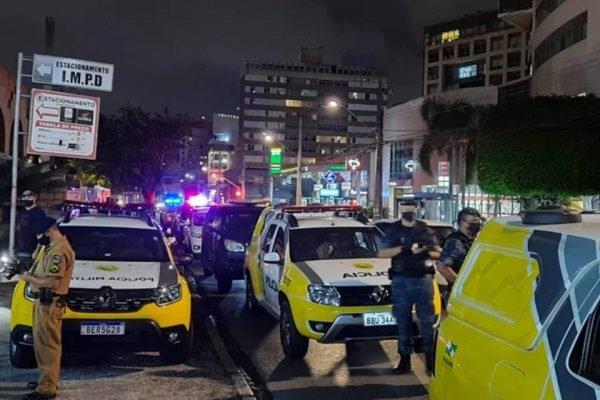 Fiscalização de culto em Curitiba