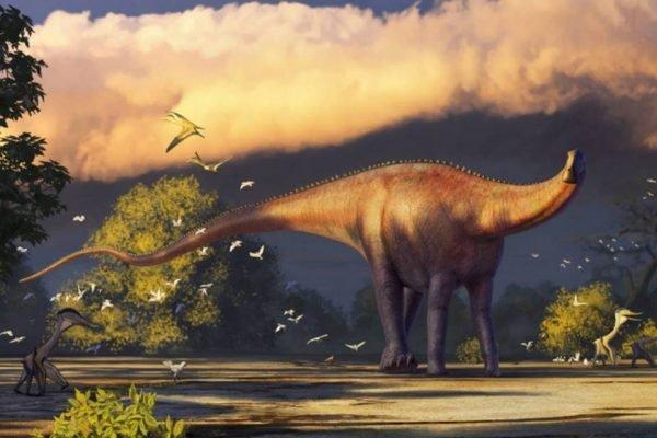 Nova espécie de dinossauro