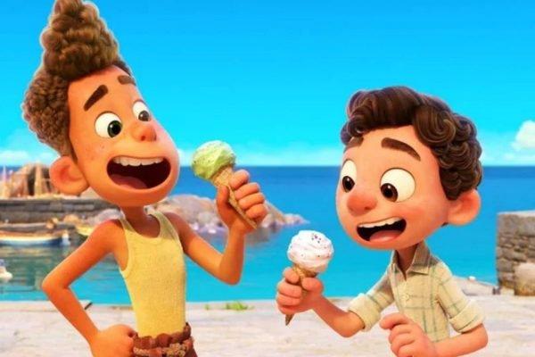 Luca novo filme Pixar animação
