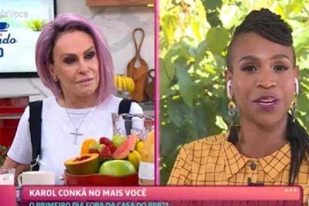 Ana Maria Braga e Karol Concá